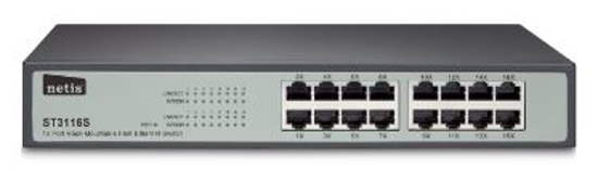 Picture of NETIS ST3116 Rackmount Switch metal