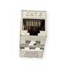 Picture of Roline Keystone Jack, Cat6, Class E, STP, slim, tool-free, silver