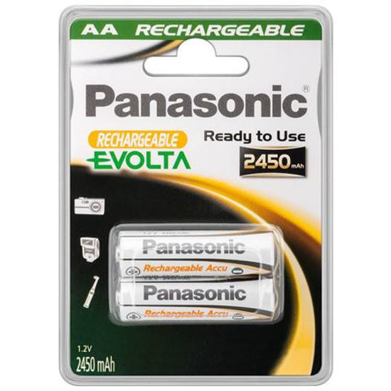 Picture of PANASONIC punjive baterije AA 2450 mAh HHR-3XXE/2BC