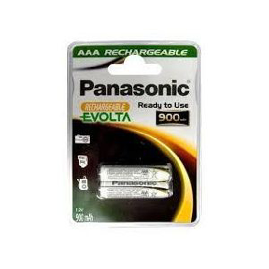 Picture of PANASONIC punjive baterije AAA 900 mAh HHR-4XXE/2BC
