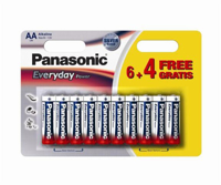 Picture of PANASONIC alkalne baterije AA LR6EPS/10BW