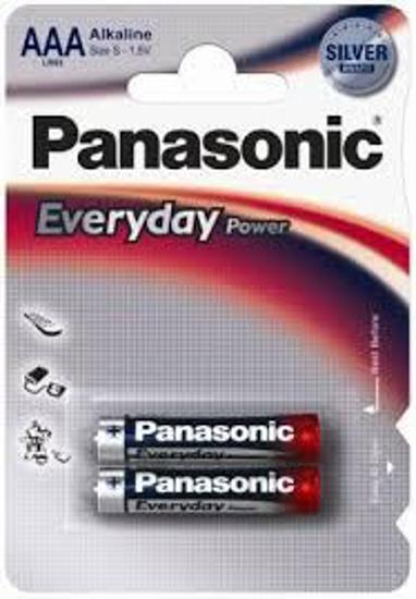Picture of PANASONIC alkalne baterije AAA LR03EPS/2BP