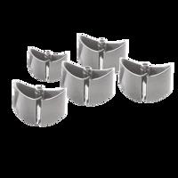 Picture of LogiLink Flexible vertikalni nosač kablova, dodatne spojnice, 5 kom.