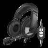 Picture of LogiLink slušalice HS0019 USB crne