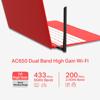 Picture of MERCUSYS MU6H Wireless USB Adapter AC650 High Gain Dual Band