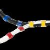 Picture of Logilink čičak traka, 4m, 16mm, plava