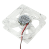 Picture of LogiLink Ventilator 80x80x25 mm, 4x LED, plava