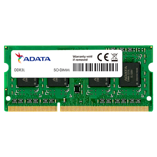 Picture of AData 8GB SODIMM DDR3L 1600MHz 1.35V CL11
