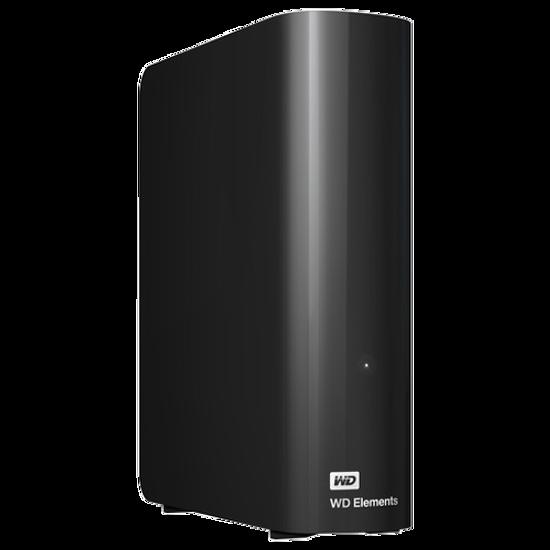"Picture of WD 4TB 3.5"" Eksterni HDD USB 3.0 Elements Desktop WDBWLG0040HBK-EESN"