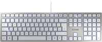 Picture of Cherry KC-6000 Slim tastatura, YU, bela/srebrna