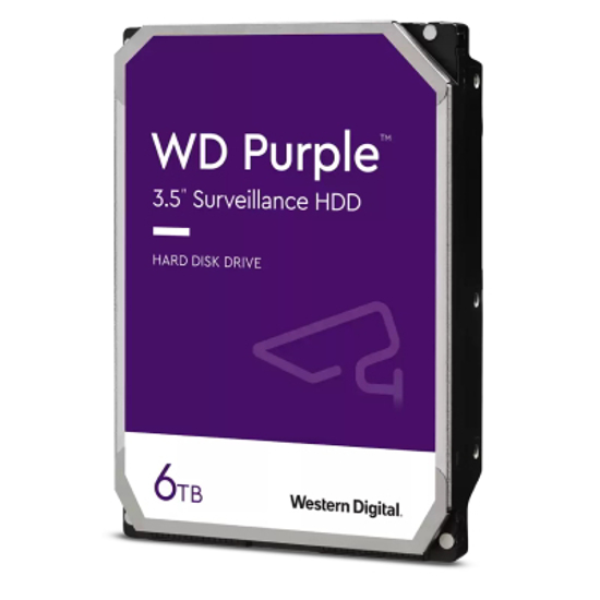 """Picture of WD HDD 6TB 3.5"""" Purple"""