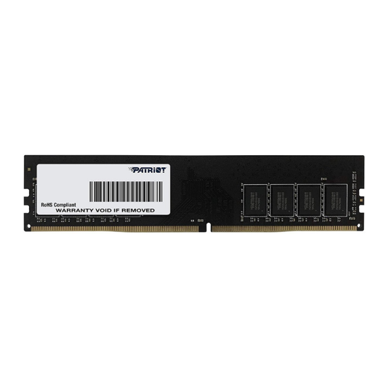 Picture of Patriot 4GB DIMM DDR4 2666MHz Signature PSD44G266681b-Bulk