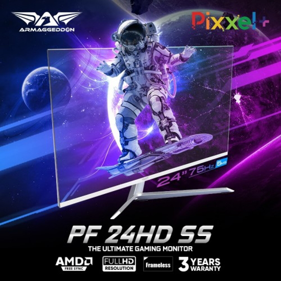 Picture of ARMAGGEDDON PIXXEL+ PRO PF24HD SS White