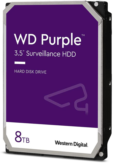 Picture of WD HDD 8TB SATA 3 PURPLE