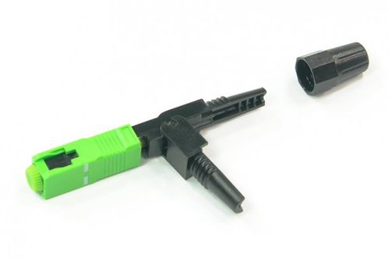 Picture of Fast connector SC/APC DS - zeleni