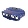 Picture of Rotronic Roline Manual USB 2.0 Printer Switch, za 4 uređaja, 4B port + 1A port