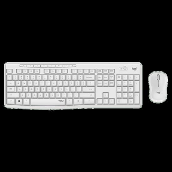 Picture of Logitech MK295 Silent Wireless Desktop US White